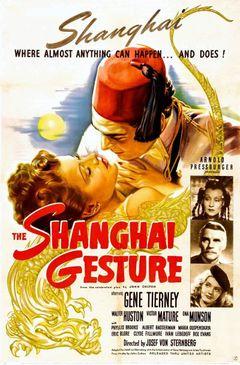 Affiche The Shanghai Gesture