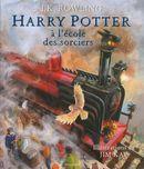 Couverture Harry Potter à l'école des sorciers (illustré par Jim Kay)