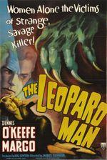 Affiche L'Homme-Léopard