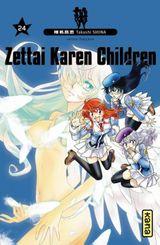 Couverture Zettai Karen Children, tome 24