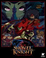 Jaquette Shovel Knight : Specter of Torment