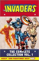 Couverture The Invaders : The Complete Collection, tome 1