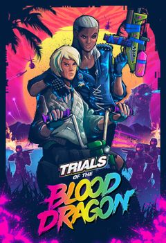 Jaquette Trials of the Blood Dragon
