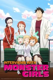 Affiche Interviews with Monster Girls