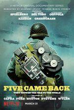 Affiche Cinq hommes et une guerre