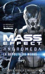 Couverture Mass Effect Andromeda : la révolte du Nexus