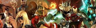 Cover Top super-héros Marvel