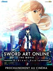 Affiche Sword Art Online Movie : Ordinal Scale