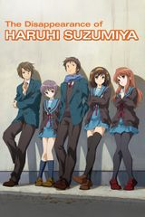 Affiche La Disparition de Haruhi Suzumiya