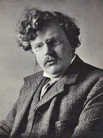 Photo G. K. Chesterton