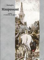Couverture Maupassant, contes et nouvelles de guerre