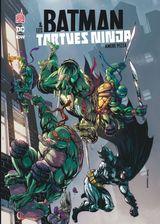 Couverture Amère Pizza - Batman & Les Tortues Ninja