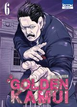 Couverture Golden Kamui, tome 6
