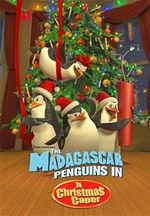 Affiche Les Pingouins de Madagascar : Mission Noël