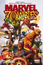 Couverture Famine - Marvel Zombies (Marvel Deluxe), tome 1