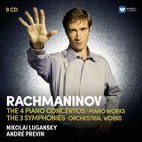 Pochette The 4 Piano Concertos / The 3 Symphonies