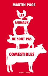 Couverture Les animaux ne sont pas comestibles