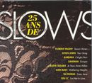 Pochette 25 ans de Slows