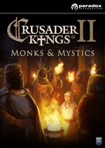 Jaquette Crusader Kings II: Monks and Mystics