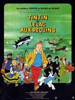 Affiche Tintin et le Lac aux requins