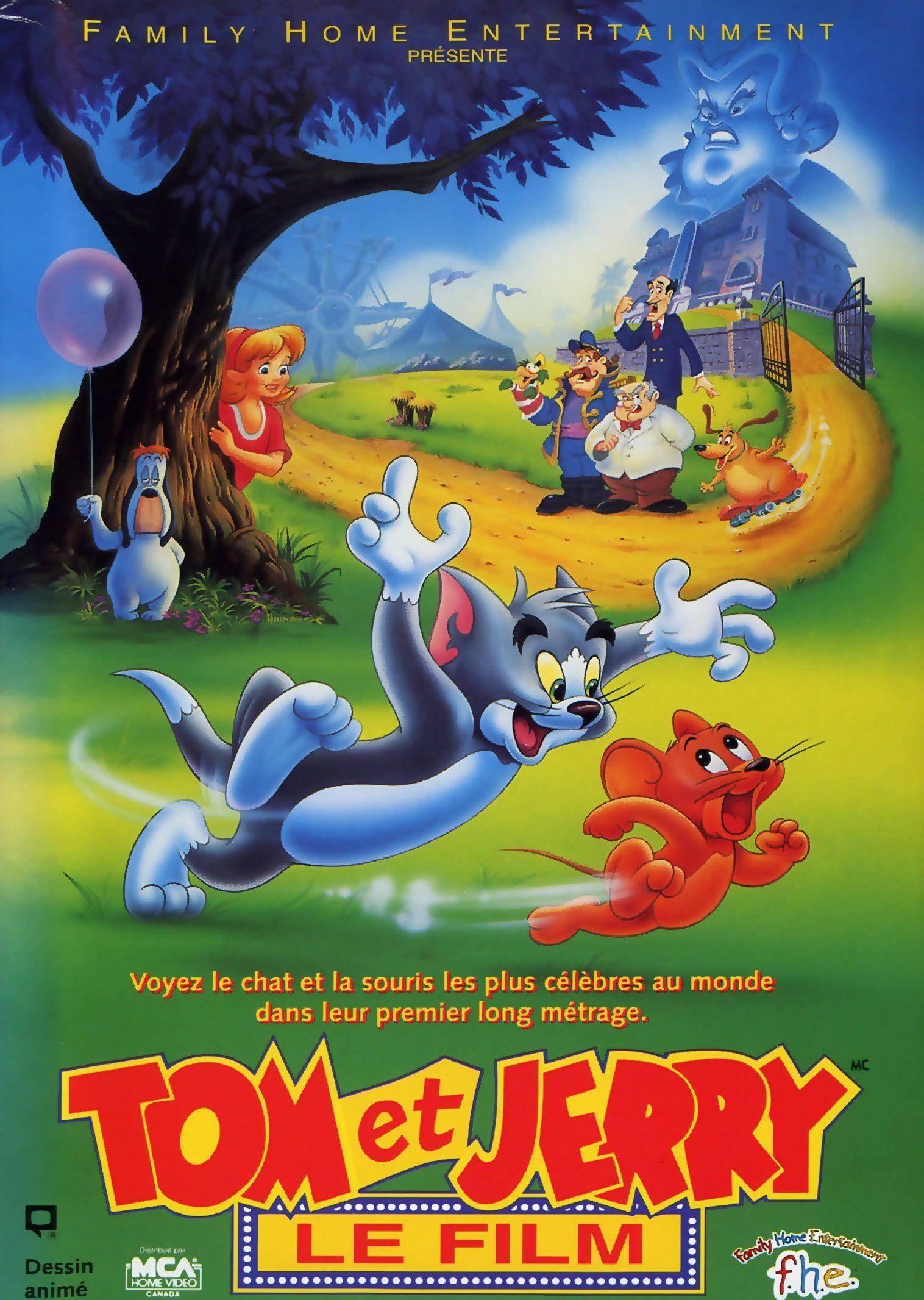 Affiches posters et images de tom et jerry le film 1992 - De tom et jerry ...