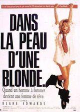 Affiche Dans la peau d'une blonde