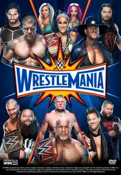 Affiche WrestleMania 33