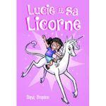 Couverture Lucie et sa licorne