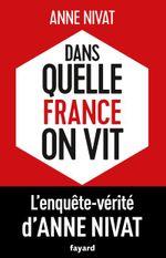 Couverture Dans quelle France on vit