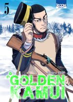 Couverture Golden Kamui, tome 5