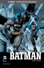 Couverture Batman : Silence (2ème partie) - DC Comics, Le Meilleur des Super-Héros, tome 2