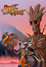 Affiche Marvel's Rocket & Groot