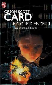 Couverture La Stratégie Ender - Le Cycle d'Ender, tome 1