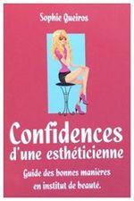 Couverture Confidences d'une esthéticienne
