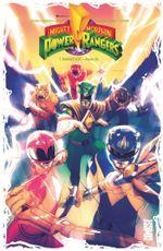 Couverture Mighty Morphin Power Rangers - Tome 1 : Ranger vert – Année Un