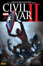Couverture Civil War II, tome 4