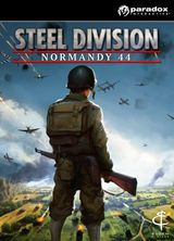 Jaquette Steel Division : Normandy 44