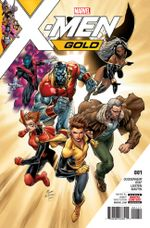 Couverture X-Men Gold (2017 - Present)
