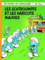 Couverture Les Schtroumpfs et les haricots mauves - Les Schtroumpfs, tome 35