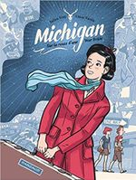 Couverture Michigan, sur la route d'une War Bride