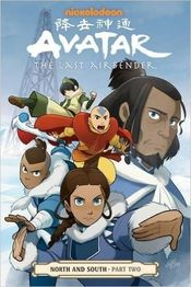 Couverture Avatar : The Last Airbender - North and South, tome 2