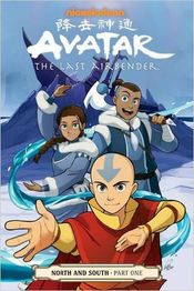 Couverture Avatar : The Last Airbender - North and South, tome 1