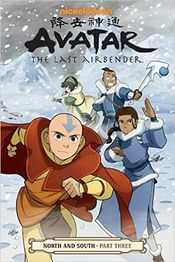 Couverture Avatar : The Last Airbender - North and South, tome 3