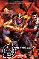 Couverture Avengers: Time Runs Out (2014), tome 3