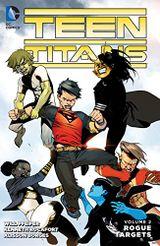 Couverture Teen Titans Vol. 2: Rogue Targets