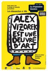 Affiche Alex Vizorek est une oeuvre d'art