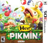 Jaquette Hey! PIKMIN