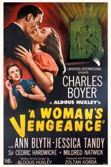 Affiche La Vengeance d'une femme