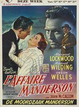 Affiche L'Affaire Manderson
