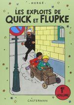 Couverture Les exploits de Quick et Flupke, tome 1